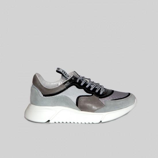 Zapatillas Cetti C1156 ante clair gris