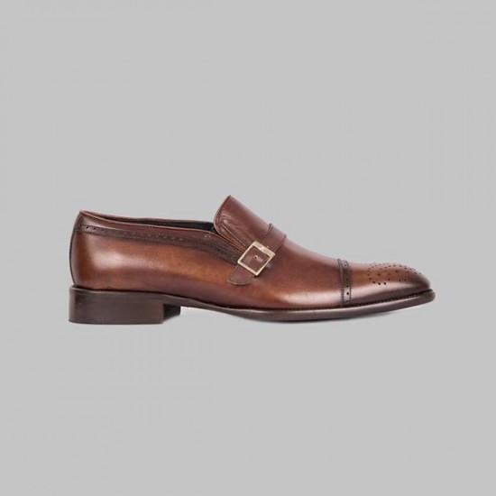 Zapatos Y.Yawata 183-5 211 crustlavatto MARRÓN