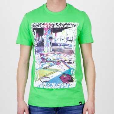 Camiseta GAS JEANS verde