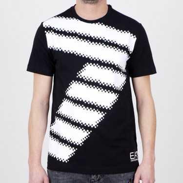 Camiseta EA7 EMPORIO ARMANI negra