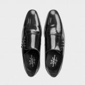 Zapatos Yoshino Yawata 3525 antik negro