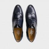 Zapatos Yoshino Yawata 3807 lavato marino
