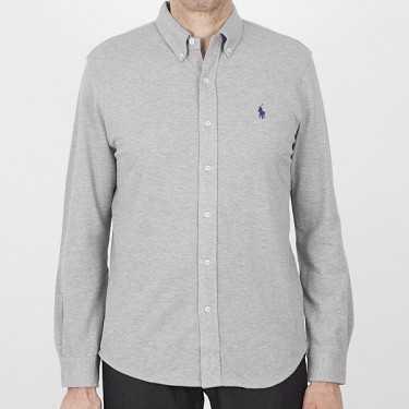 Camisa RALPH LAUREN gris