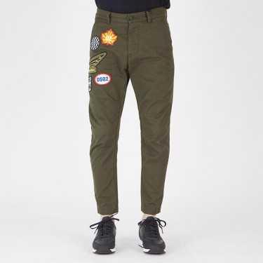 Pantalón DSQUARED2 verde