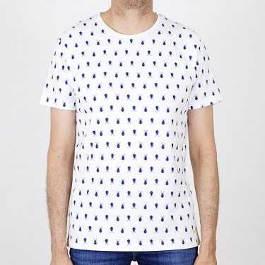 Camiseta NEW IN TOWN blanca
