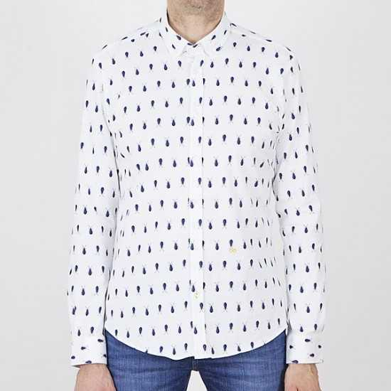Camisa New in Town 8021122 hemd 1/1 arm 100