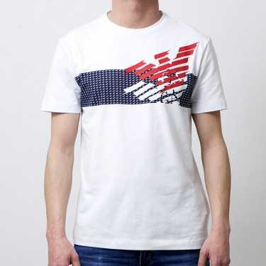 Camiseta EA7 EMPORIO ARMANI blanca