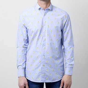 Camisa SSEINSE azul