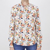 Camisa New in Town 8021116 hemd 1/1 arm 938