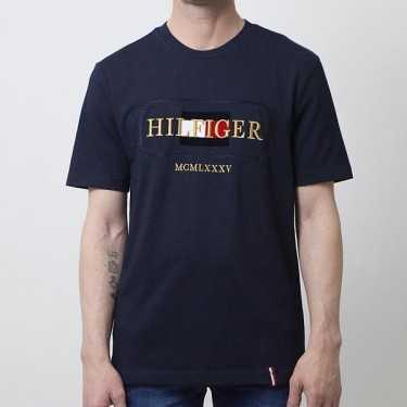 Camiseta TOMMY HILFIGER azul