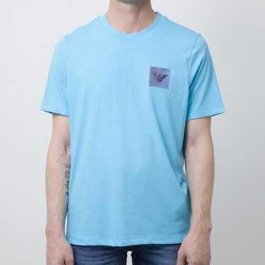 Camiseta EMPORIO ARMANI turquesa