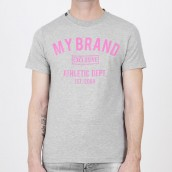 Camiseta My Brand 1X20 001 B 0003 02GR
