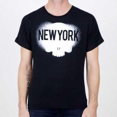 Camiseta HYDROGEN negra