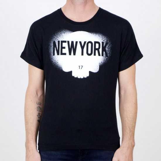 Camiseta Hydrogen R00244 E16 Negro XL.