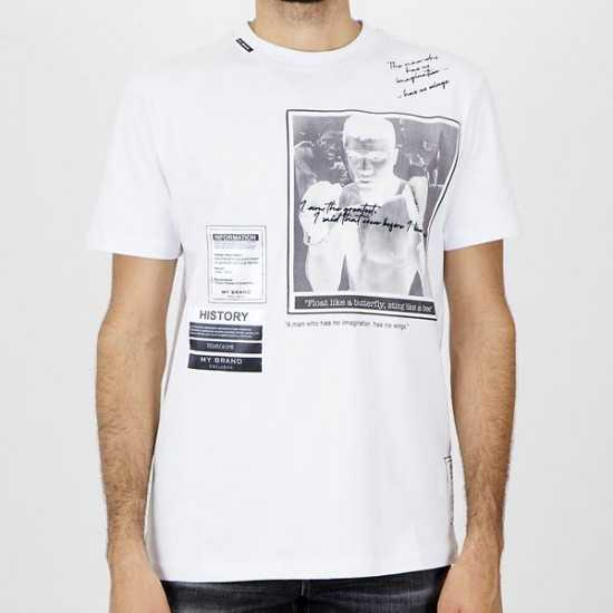Camiseta My Brand 1-Y20-001-A-0014 03WH