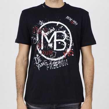 Camiseta MY BRAND negra