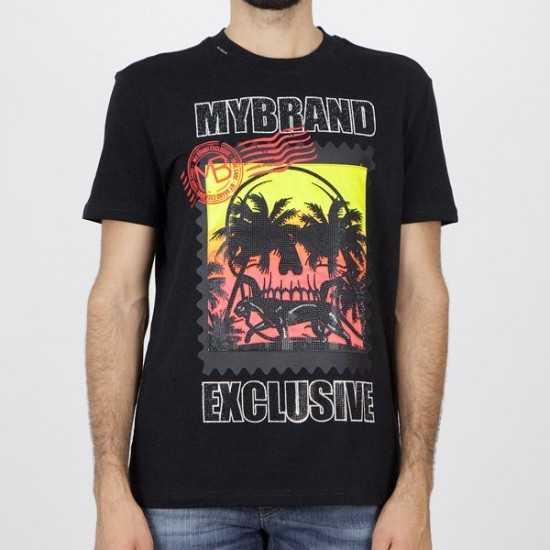 Camiseta My Brand 1-Y20-001-A-0036 01BL