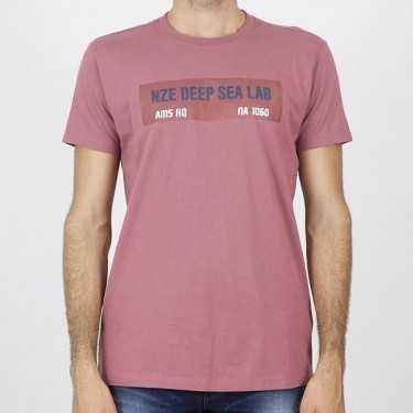 Camiseta NOIZE rosa