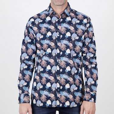 Camisa NOIZE marino