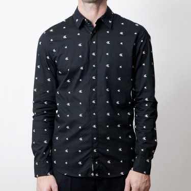 Camisa CALVIN KLEIN JEANS negra