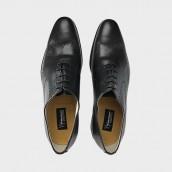 Zapatos Yoshino Yawata wholecut 567 negro