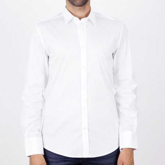 Camisa Antony Morato MMSL00627 FA450010 1000 Blan