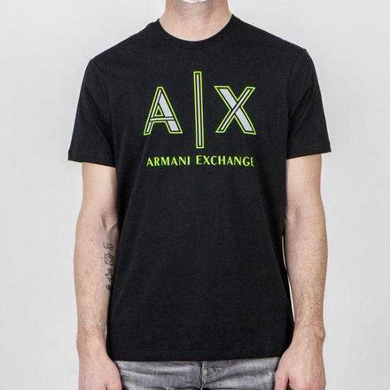 Camiseta Armani Exchange 3KZTAF ZJ4JZ 1200 Negro
