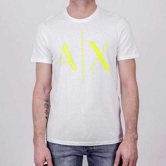Camiseta Armani Exchange 3KZTAG ZJ4KZ 1100 Blanco