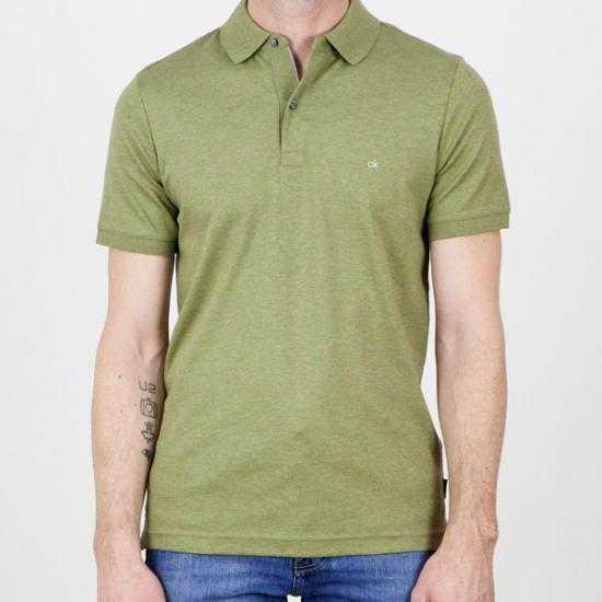 Polo Calvin Klein K10K1070900XY  Verde XL.