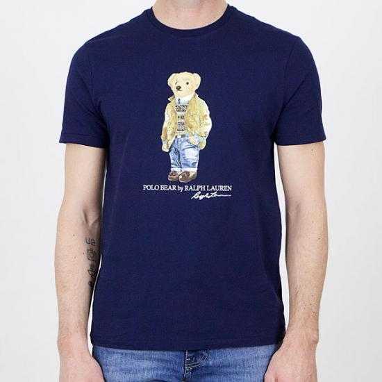 Camiseta Ralph Lauren 710835761001  Azul XL.