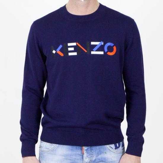 Jersey Kenzo FB55PU5413LA 76  Azul S..