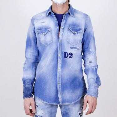 Camisa DSQUARED2 denim