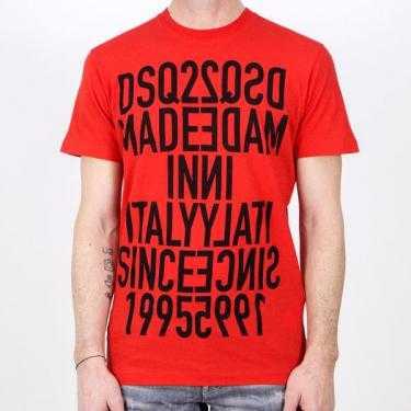 Camiseta DSQUARED2 roja