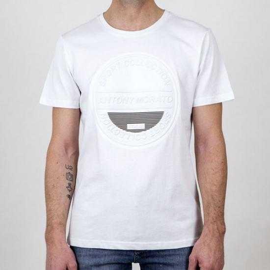 Camiseta Antony Morato MMKS01991 FA100144 1000 Bl