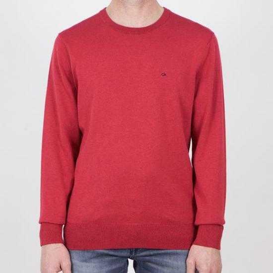Jersey Calvin Klein K10K104920XK6  Rojo XL.
