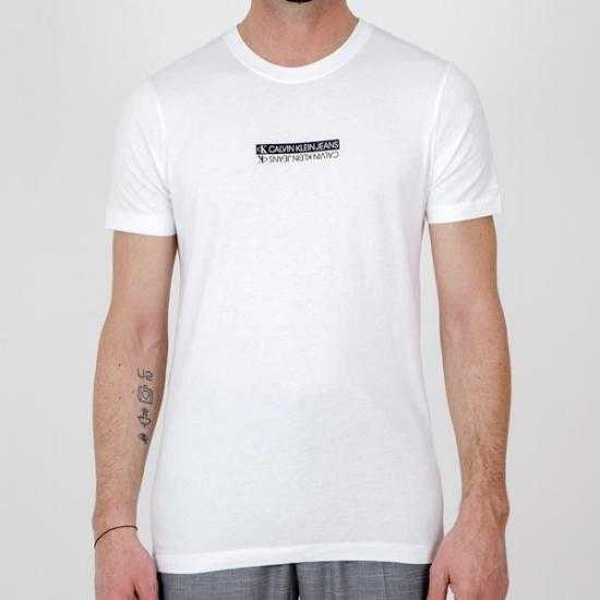 Camiseta Calvin Klein Jeans J30J317063YAF Blanco