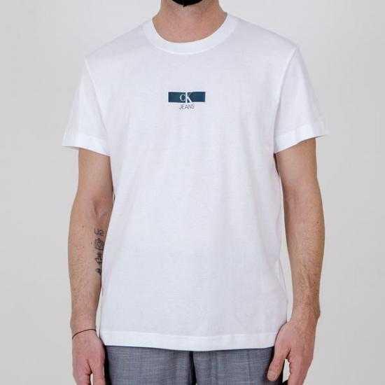 Camiseta Calvin Klein Jeans J30J317492YAF Blanco