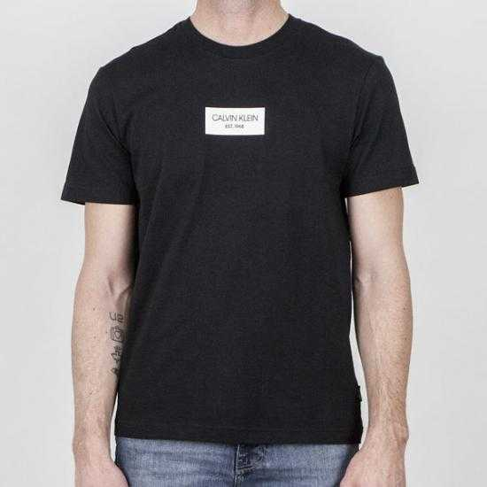 Camiseta Calvin Klein K10K106484BEH Negro XXL