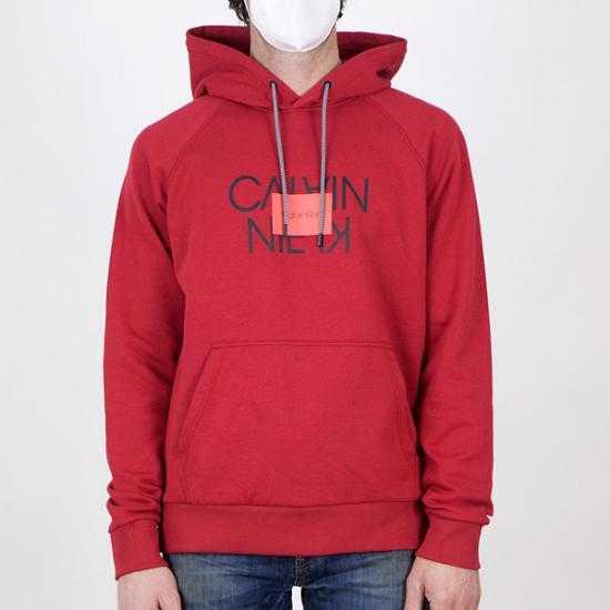 Sudadera Calvin Klein K10K106473XK6 Rojo XL.
