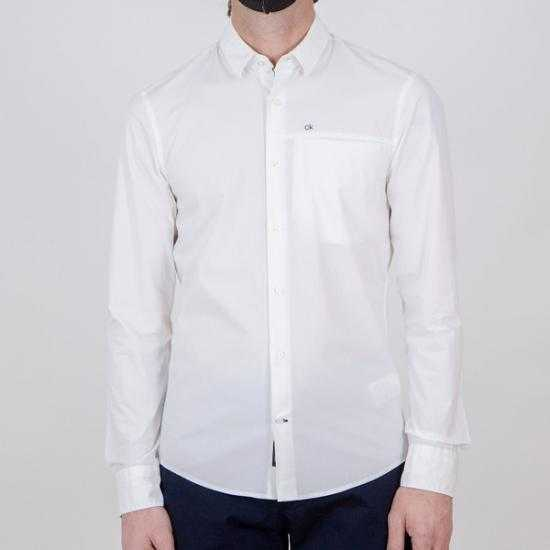 Camisa Calvin Klein K10K107021YAF Blanco XXL