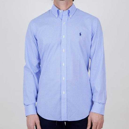 Camisa Ralph Lauren 710828845001 Azul XXL