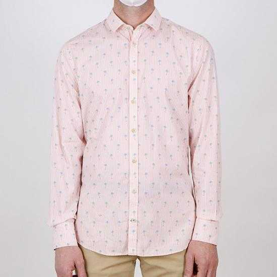 Camisa Colours & Sons 9121-260 261 Rosa XXL