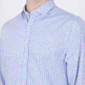 Camisa Colours & Sons 9121-300 306 Azul XXL