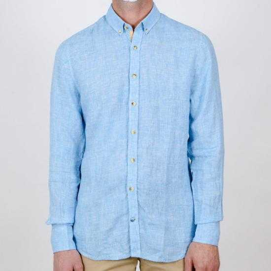 Camisa Colours & Sons 9121-220 224 Azul XXL