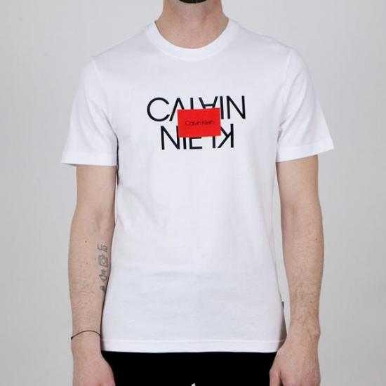 Camiseta Calvin Klein K10K106489YAF Blanco XL.