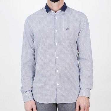 Camisa ARMANI EXCHANGE azul