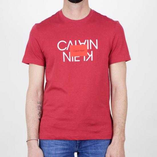 Camiseta Calvin Klein K10K106489XK6 Rojo XL.