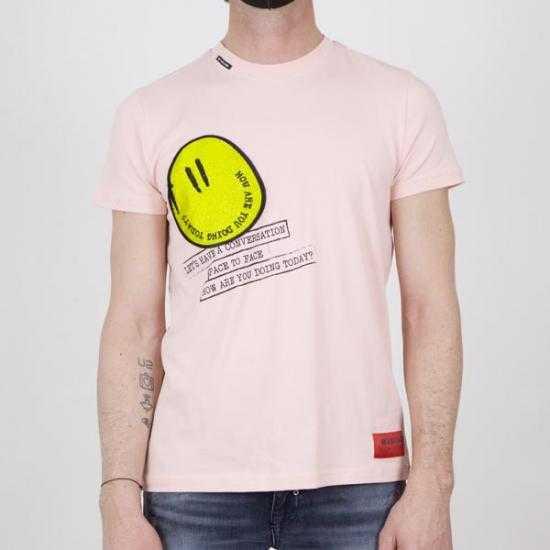 Camiseta My Brand 1-X21-001-A-0002 95BL  Rosa XL.