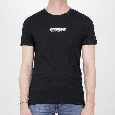 Camiseta CALVIN KLEIN JEANS negra