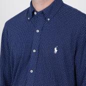 Camisa Ralph Lauren 710835216001 Azul XL.